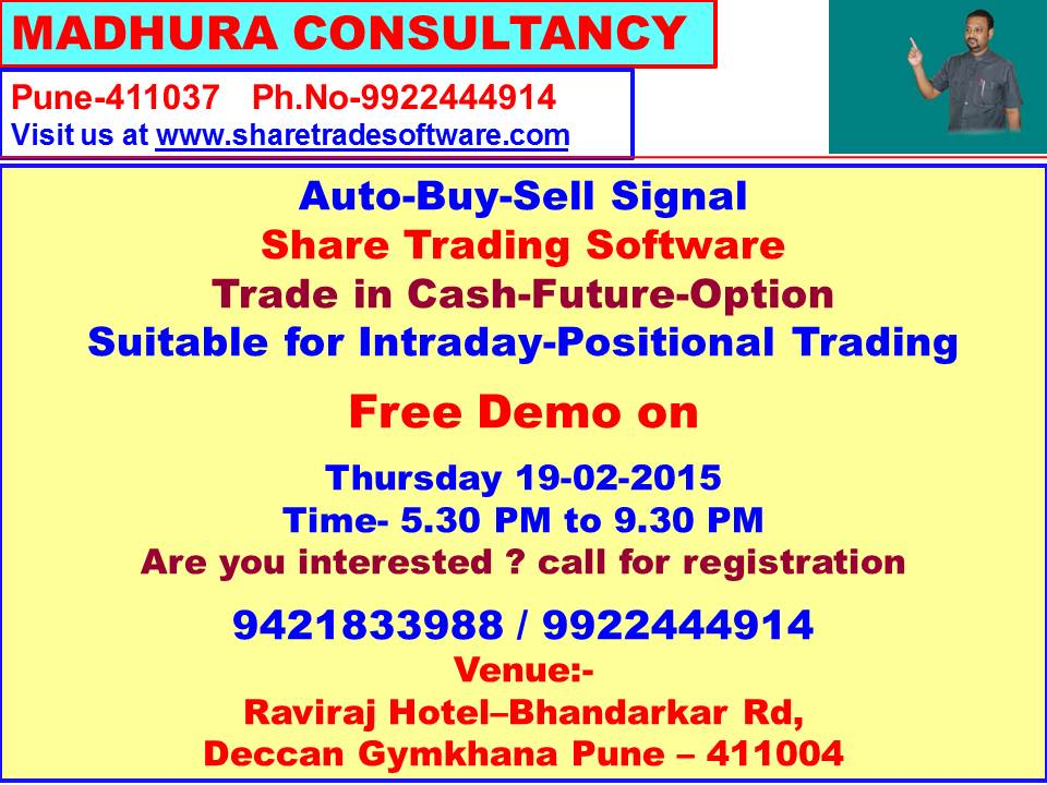 Share trading software buy sell signals